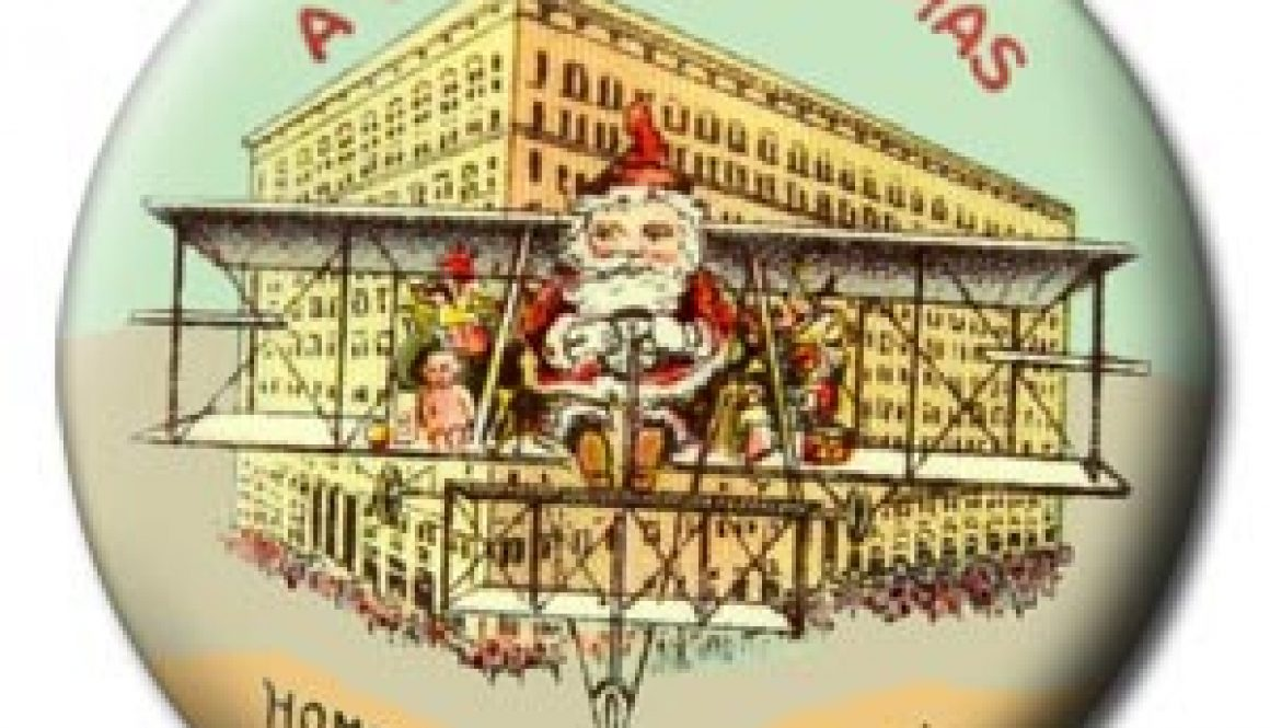 Christmas Buttton