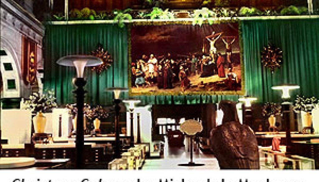 Wanamaker-Easter-Display-Paintingin-Grand-Court-Munkacsy