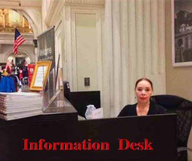 infoa desk